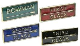 Classification badges