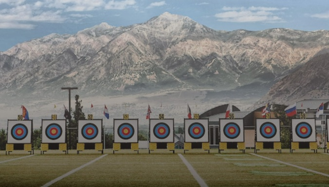 Archery Mountains Background